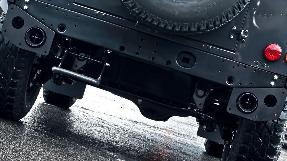 Система выхлопа (Land Rover Defender 90)