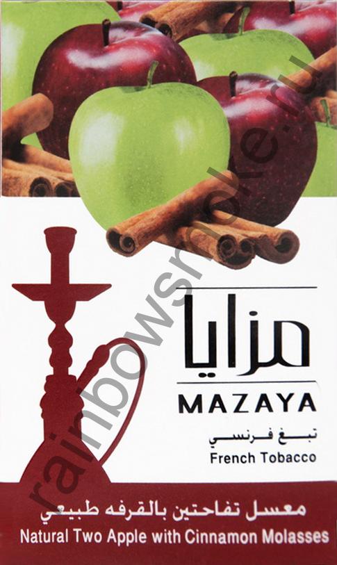Mazaya 1 кг - Two Apple with Cinnamon (Двойное Яблоко с Корицей)