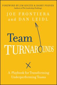 Team Turnarounds. A Playbook for Transforming Underperforming Teams