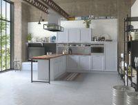 Кухня Амальфи Серая