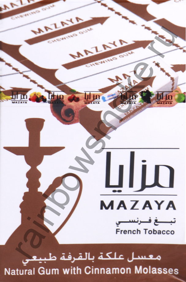 Mazaya 1 кг - Gum with Cinnamon (Жвачка с Корицей)