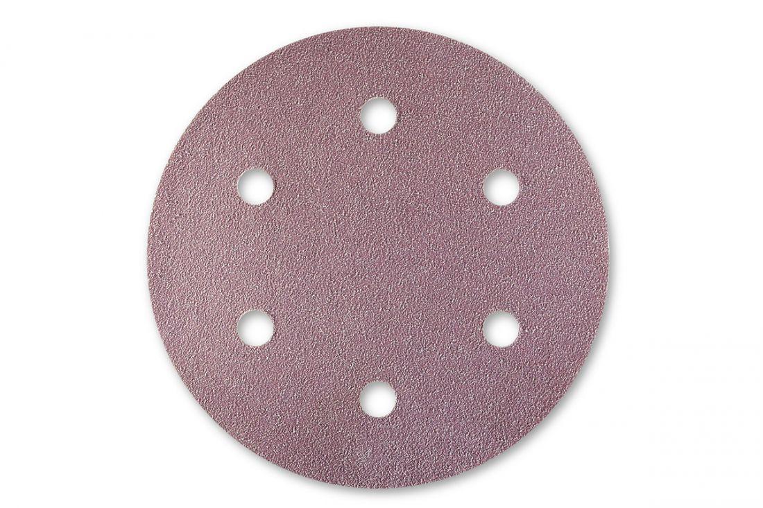 Sia 1950 Siaspeed абразив в кругах, 77мм., 6 отверстий, P100, (пачка 100 шт.)