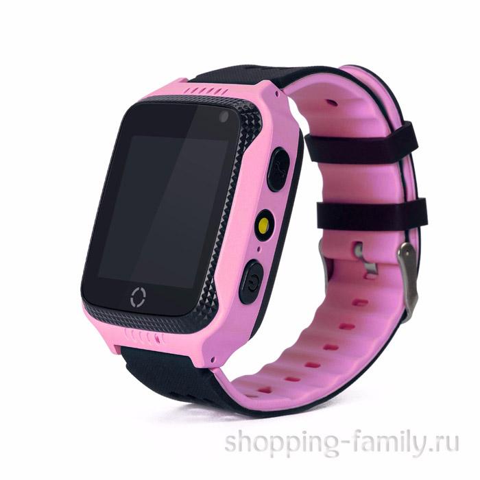 Детские умные часы Smart Baby Watch Q528, цвет розовый