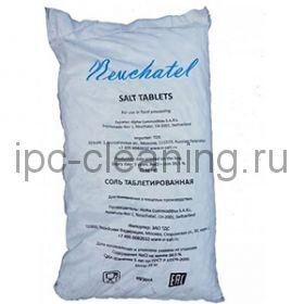 Соль пищевая таблетированная NEUCHATEL в цилиндрах