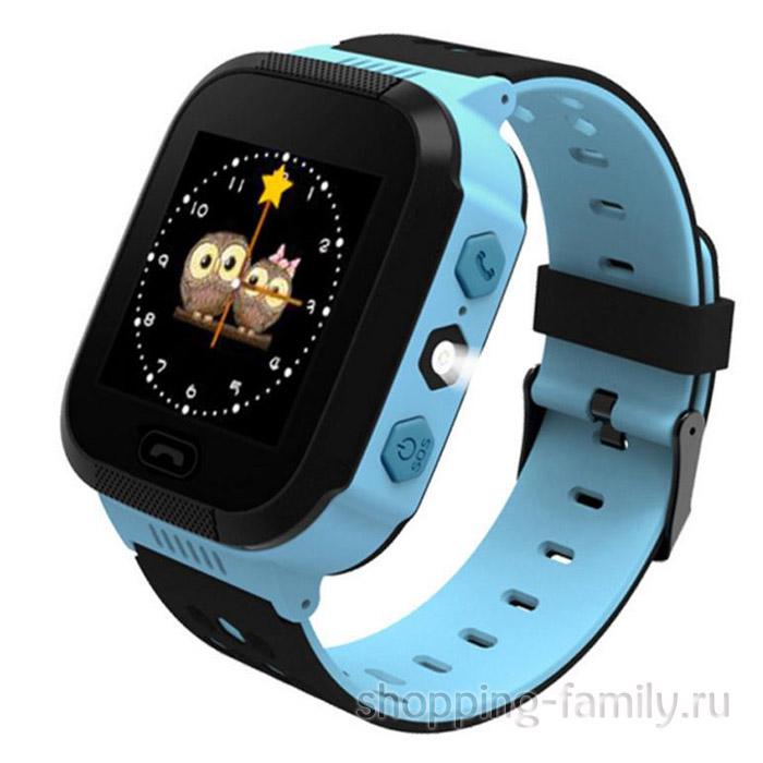 Детские умные часы Smart Baby Watch Q528, цвет голубой