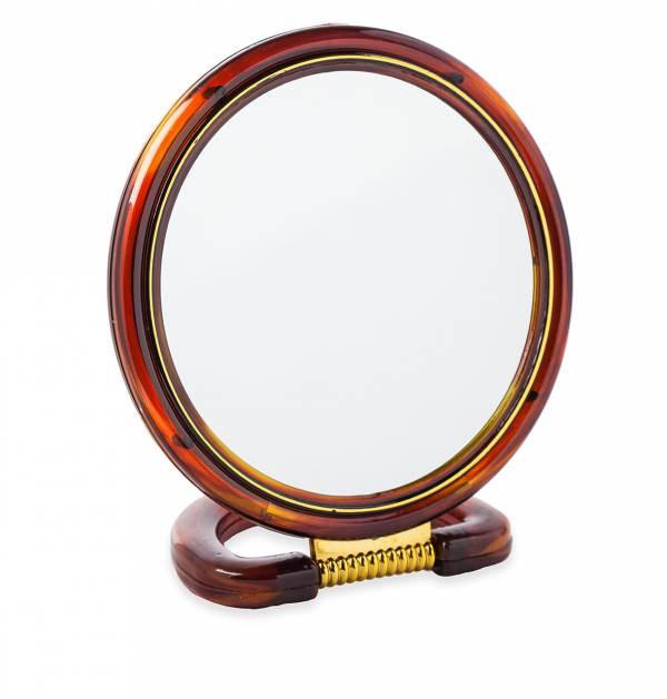 Круглое настольное двустороннее зеркало с увеличением Chic De Mirror, диаметр 11см