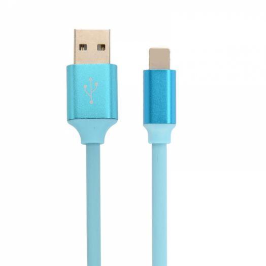 Кабель USB 2.4А Орбита KM-51 (iPhone5/6/7) 1м