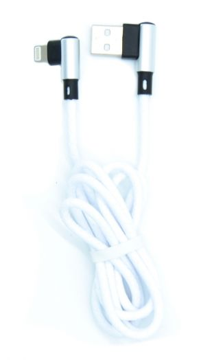 Кабель USB 3А MUJU MJ-65 (iPhone5/6/7) 1м