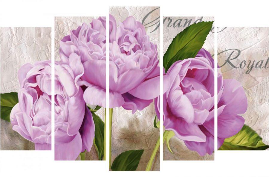 Модульная картина Букет цветов Grand Royal