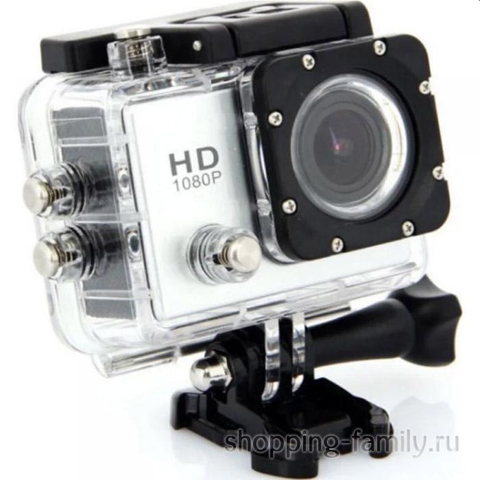 Экшн-камера Sports HD DV, цвет белый