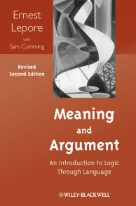 Meaning and Argument. An Introduction to Logic Through Language