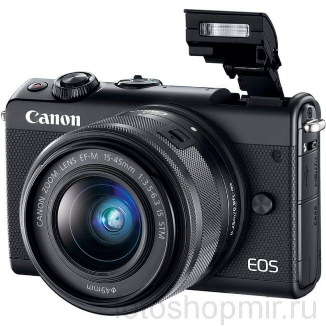 CANON EOS M 100 KIT 15-45 IS STM BLACK