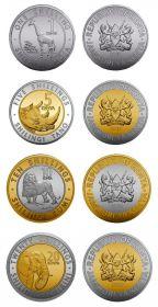 Фауна Набор монет Кения 2018