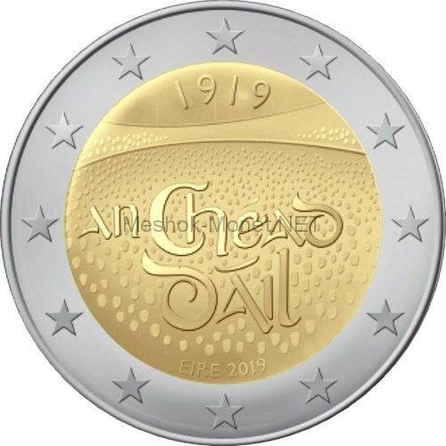 Ирландия 2 евро 2019 100 лет со дня первого заседания Дойл Эрен