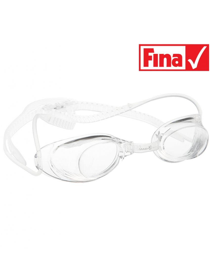 Очки для плавания стартовые Mad Wave Liquid Racing