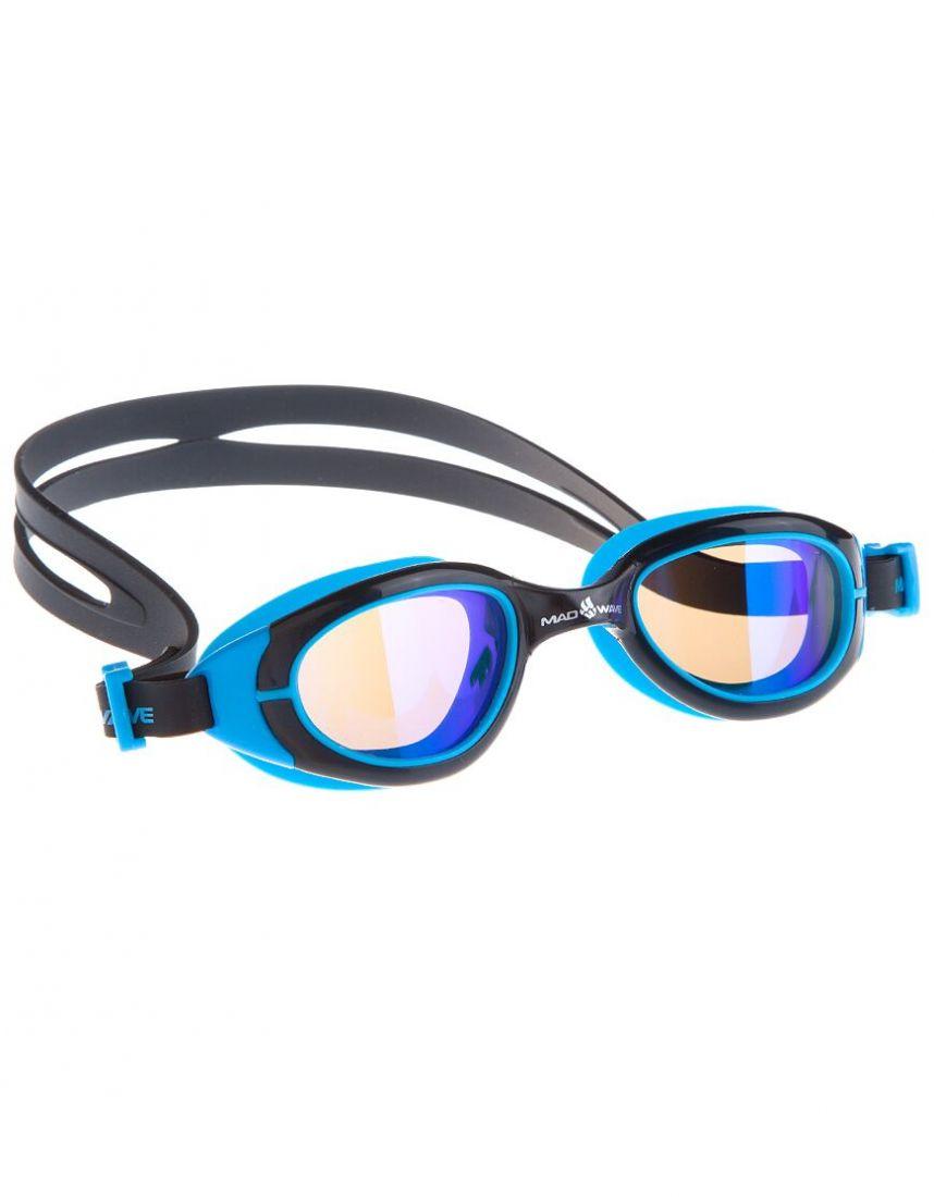 Очки для плавания тренировочные Mad Wave SUN BLOKER Junior