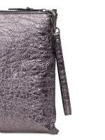 Сумка через плечо Eleganzza Z13-7314-2 silver-grey/black