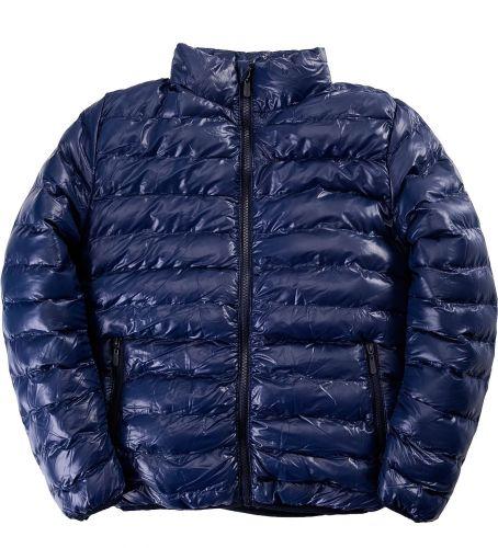 Однотонная стеганая куртка для мальчика 9-14 лет Bonito OP043