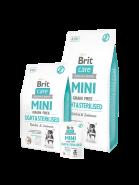 Brit Care Mini Light & Sterilised избыточным весом или стерилизованных собак 7кг