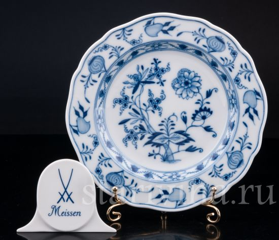 Изображение Пирожковая тарелка, Цвибельмусер, Meissen, Германия