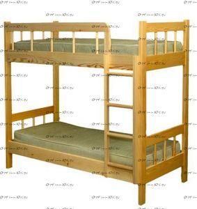 Кровать двухъярусная Оля-2