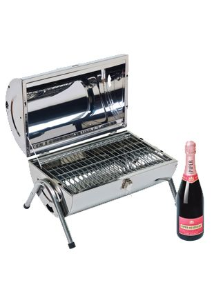 """Champagne Piper-Heidsieck Rose Sauvage (gift box """"BBQ"""")"""