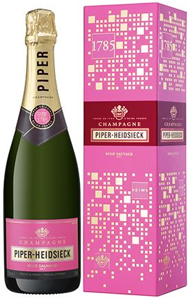 "Champagne Piper-Heidsieck Rose Sauvage (gift box ""Off Trade"")"