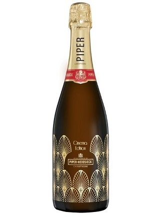 "Champagne Piper-Heidsieck Brut ""Cinema Limited Edition 2018 Bottle"""
