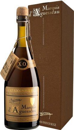 Calvados Marquis d'Aguesseau XO 8 ans
