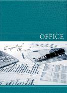 "Ежедневник ""Офисный стиль"", А5, 136 л., 7БЦ, гл. лам., цв. мел. обл., недатир. (арт. 136-3772)"
