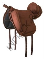 Пад для езды без седла Barefoot Ride-On-Pad Physio Support коричневый