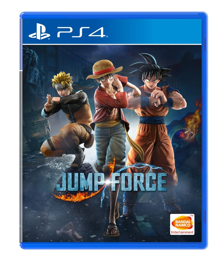 Игра Jump Force (PS4)