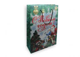 """Пакет подарочный """"С Новым Годом"""""""