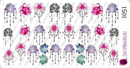 Слайдер-дизайн 1051 - Броши цветы