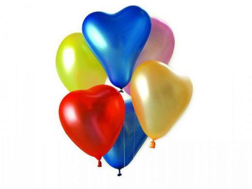 Набор гелиевых сердец  БЛЕСК ЛЮБВИ