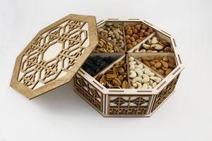 Подарочная коробка с сухофруктами