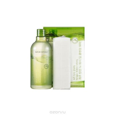 Вода очищающая Nature Republic JEJU SPARKLING CLEANSING WATER  510мл