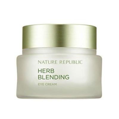 Крем для кожи вокруг глаз с травяными экстрактами Nature Republic HERB BLENDING EYE CREAM 25мл