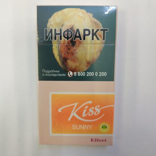 Сигареты Kiss Sunny Effect (Манго+цитрусовая капсула)