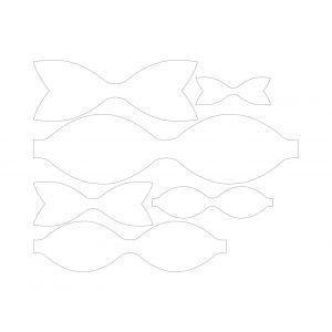 `Набор шаблонов ''Classic bow'' , фанера 3 мм