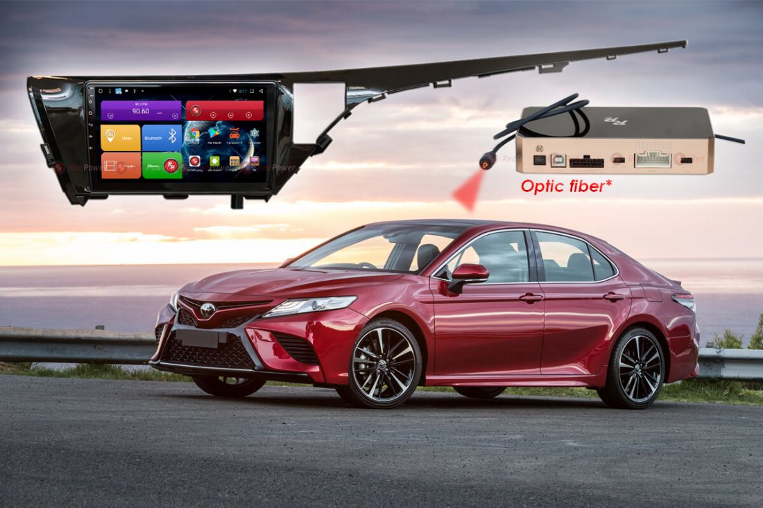 RedPower 31331 R IPS DSP ANDROID 7 для Toyota Camry XV70 2018 +