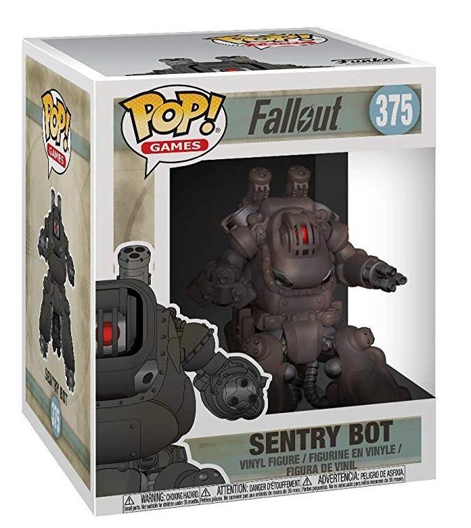 "Фигурка Funko POP! Vinyl: Games: Fallout S2: 6"" Sentry Bot 33995"