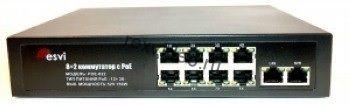 POE-822 POE коммутатор 8+2 порта