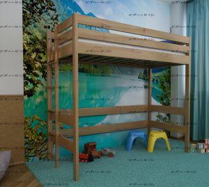 Кровать-чердак домик IR10