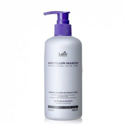 Шампунь оттеночный против желтизны волос Lador Anti Yellow Shampoo 300ml 300мл