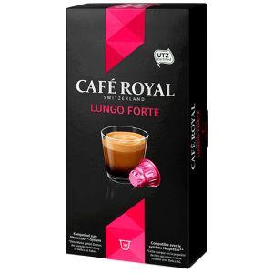Кофе в капсулах Cafe Royal Lungo Forte 10 шт ( совместимые с кофемашинами Nespresso)