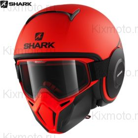 Шлем Shark Street Drak Neon, Оранжевый матовый