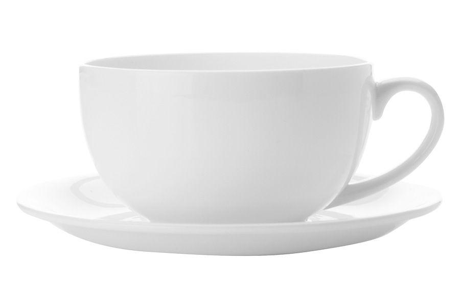 """Чашка с блюдцем """"Кашемир"""" 0.35 л"""