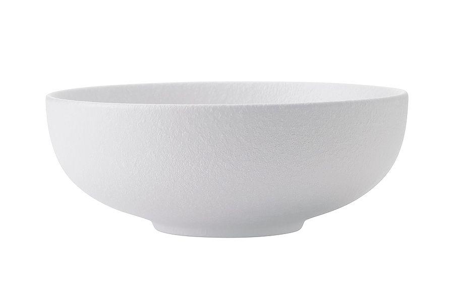 """Салатник """"Икра"""" (белая) 1 л, 19 см"""