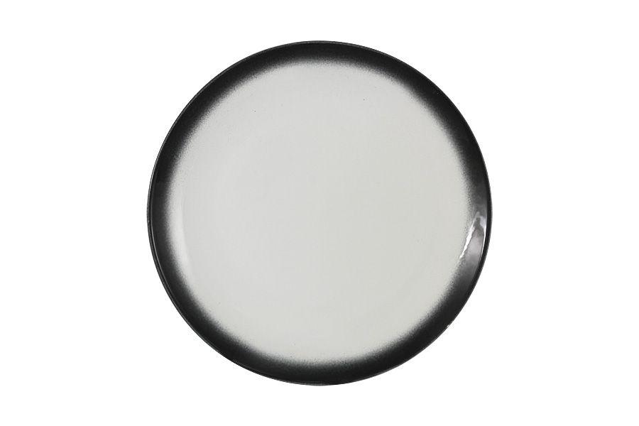 """Тарелка закусочная """"Икра"""" (гранит) 20 см"""